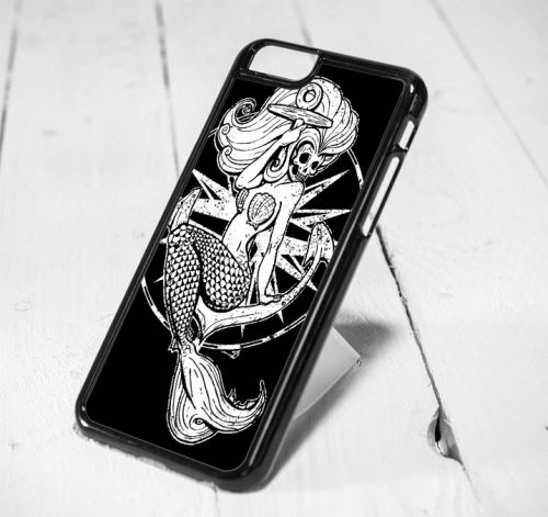 Disney Little Mermaid Skelleton Protective iPhone 6 Case, iPhone 5s Case, iPhone 5c Case, Samsung S6 Case, and Samsung S5 Case