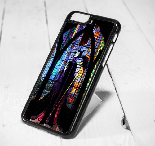Disney Maleficent Stained Glass Protective iPhone 6 Case, iPhone 5s Case, iPhone 5c Case, Samsung S6 Case, and Samsung S5 Case