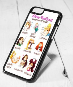 Disney Purrincess Protective iPhone 6 Case, iPhone 5s Case, iPhone 5c Case, Samsung S6 Case, and Samsung S5 Case