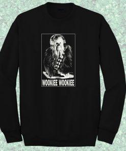 Dj Wookie Wookie Chewbacca Starwars Crewneck Sweatshirt