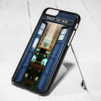 Doctor Who Police Box Inside Protective iPhone 6 Case, iPhone 5s Case, iPhone 5c Case, Samsung S6 Case, and Samsung S5 Case