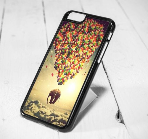 Elephant Hot Air Balloon Protective iPhone 6 Case, iPhone 5s Case, iPhone 5c Case, Samsung S6 Case, and Samsung S5 Case