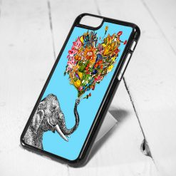 Elephant Love Tribal Art Protective iPhone 6 Case, iPhone 5s Case, iPhone 5c Case, Samsung S6 Case, and Samsung S5 Case
