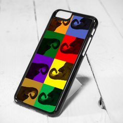 Elephant Pop Art Protective iPhone 6 Case, iPhone 5s Case, iPhone 5c Case, Samsung S6 Case, and Samsung S5 Case