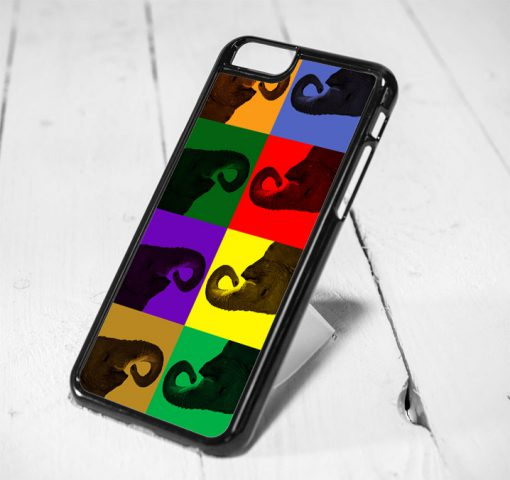 Elephant Pop Art Protective iPhone 6 Case, iPhone 5s Case, iPhone 5c Case, Samsung S6 Case, and Samsung S5 Case