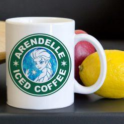 Disney Elsa Frozen Arendelle Iced Coffee Tea Coffee Classic Ceramic Mug 11oz