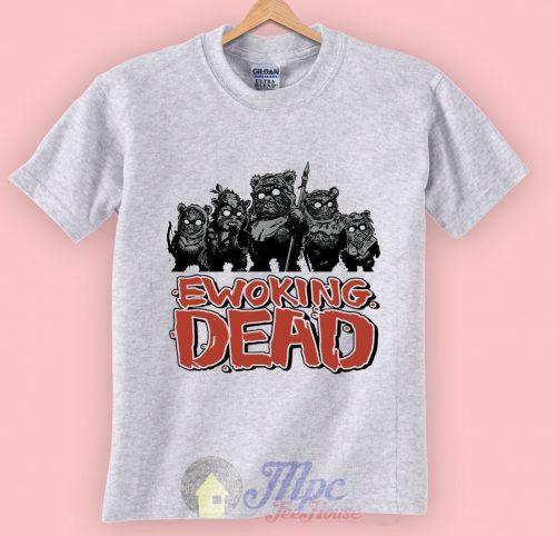 Ewoking Walking Dead Unisex Premium T shirt Size S,M,L,XL,2XL