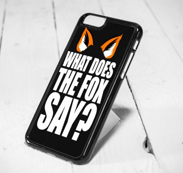 Fox Quote Protective iPhone 6 Case, iPhone 5s Case, iPhone 5c Case, Samsung S6 Case, and Samsung S5 Case