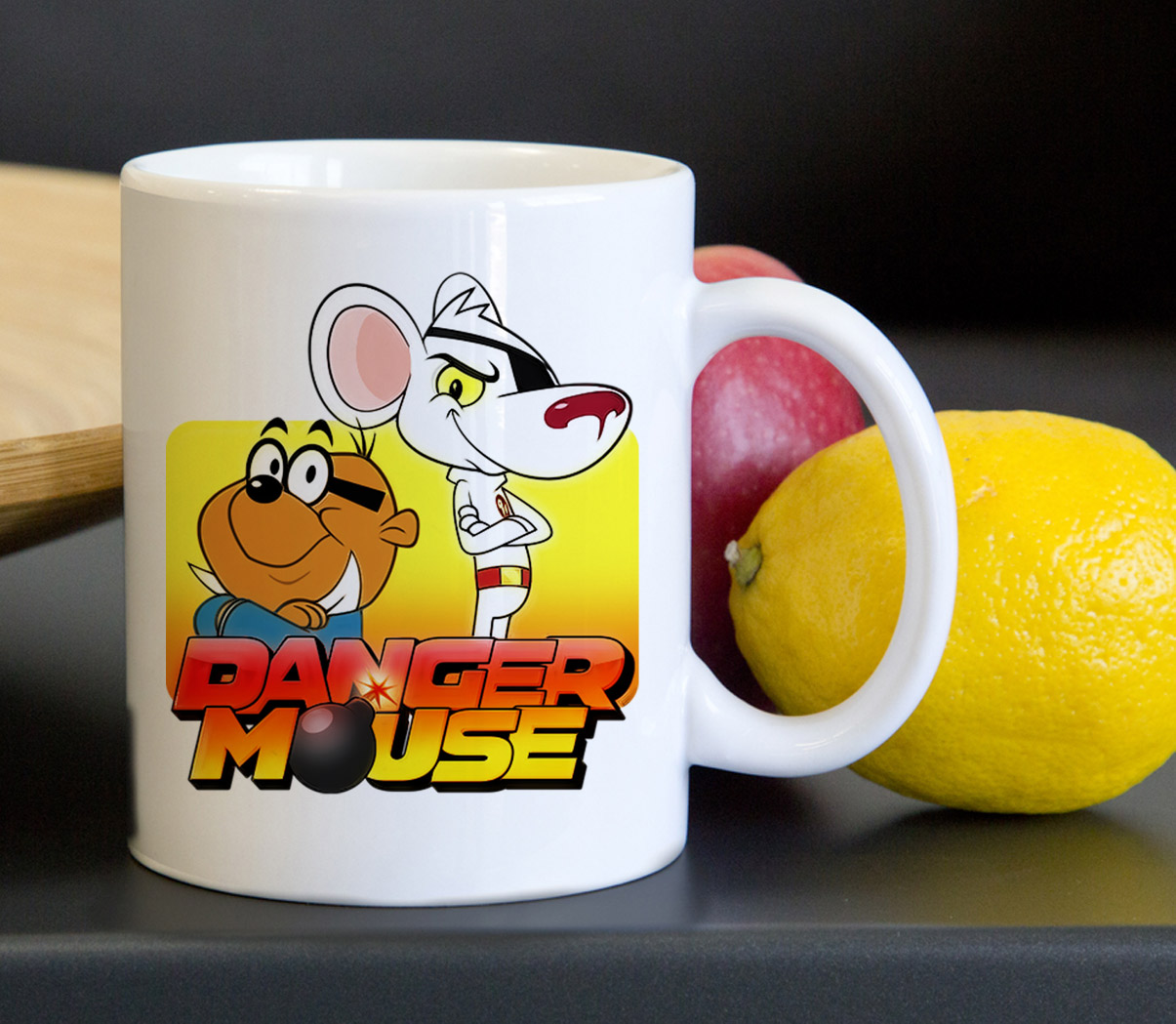 Funny Danger Mouse Tea Coffee Classic Ceramic Mug 11oz