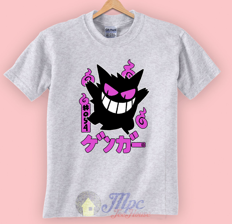 50e8a787a Gengar Kawai Pokemon Character Unisex Premium T shirt Size S,M,L,XL