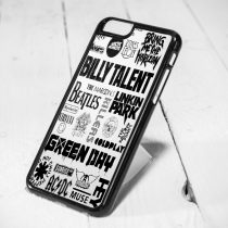 Green Day Collage Protective iPhone 6 Case, iPhone 5s Case, iPhone 5c Case, Samsung S6 Case, and Samsung S5 Case