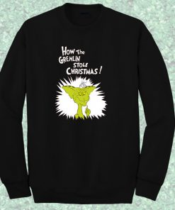 Gremlin The Grinch Style Crewneck Sweatshirt