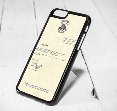 Harry Potter Acceptance Letter Protective iPhone 6 Case, iPhone 5s Case, iPhone 5c Case, Samsung S6 Case, and Samsung S5 Case