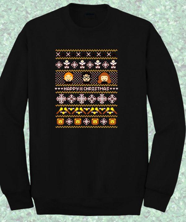 Harry Potter Ugly Sweater Crewneck Sweatshirt