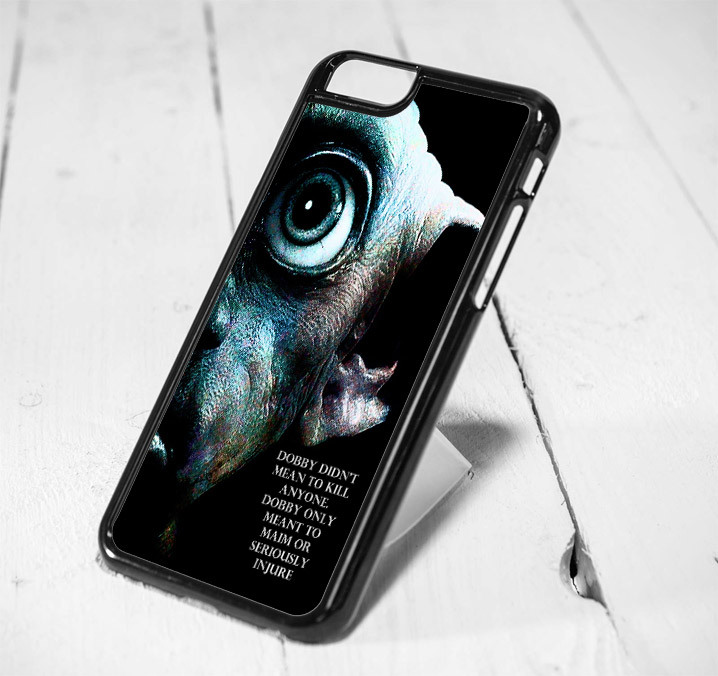 Harry Potter Dobby Quote Protective iPhone 6 Case, iPhone 5s Case, iPhone 5c Case, Samsung S6 Case, and Samsung S5 Case
