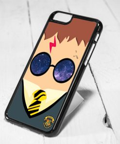 Harry Potter Kawai Galaxy Glass Protective iPhone 6 Case, iPhone 5s Case, iPhone 5c Case, Samsung S6 Case, and Samsung S5 Case