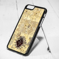 Harry Potter Marauder Map Protective iPhone 6 Case, iPhone 5s Case, iPhone 5c Case, Samsung S6 Case, and Samsung S5 Case