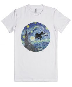 Harry Potter Stary Night Unisex Premium T shirt Size S,M,L,XL,2XL