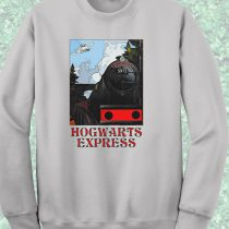 Harry Potter Hogwarts Express Train Crewneck Sweatshirt