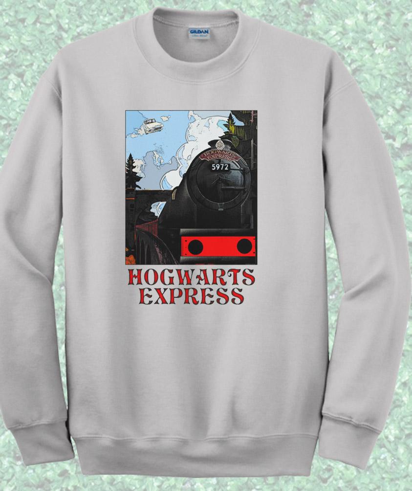 Harry Potter Hogwarts Express Train Crewneck Sweatshirt