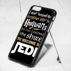 Hogwarts and Jedi Starwars Quote Protective iPhone 6 Case, iPhone 5s Case, iPhone 5c Case, Samsung S6 Case, and Samsung S5 Case