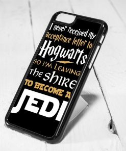 new products 1c42f b12ef Hogwarts and Jedi Starwars Quote Protective iPhone 6 Case, iPhone 5s Case,  iPhone 5c Case, Samsung S6 Case, and Samsung S5 Case