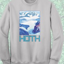 Starwars Hoth Camp Crewneck Sweatshirt