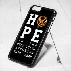 Hunger Games Hope Quote Protective iPhone 6 Case, iPhone 5s Case, iPhone 5c Case, Samsung S6 Case, and Samsung S5 Case