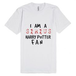 I am a Sirius Harry Potter Fan Unisex Premium T shirt Size S,M,L,XL,2XL