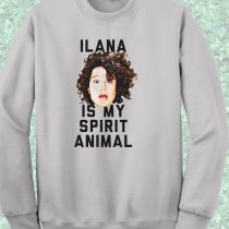 Ilana Is My Spirit Animal Bob Burger Crewneck Sweatshirt