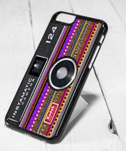 Instamatic Camera Aztec Pattern Protective iPhone 6 Case, iPhone 5s Case, iPhone 5c Case, Samsung S6 Case, and Samsung S5 Case