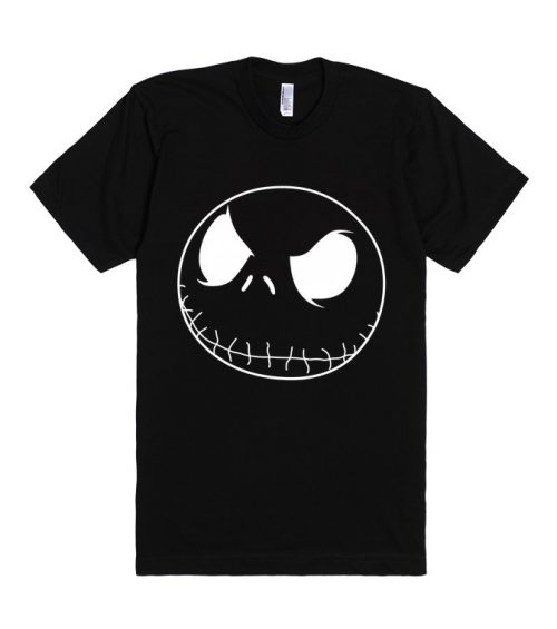 Jack Skellington Nightmare Before Christmas Unisex Premium T shirt Size S,M,L,XL,2XL