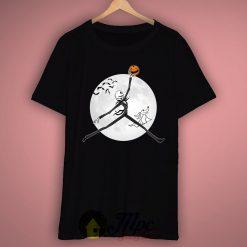 Jack Skellington Air Unisex Premium T shirt Size S,M,L,XL,2XL