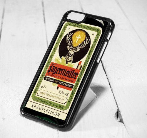 Jagermeister Protective iPhone 6 Case, iPhone 5s Case, iPhone 5c Case, Samsung S6 Case, and Samsung S5 Case