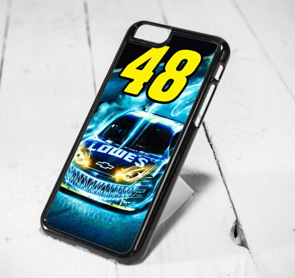 Jimmie Johnson Nascar Protective iPhone 6 Case, iPhone 5s Case, iPhone 5c Case, Samsung S6 Case, and Samsung S5 Case