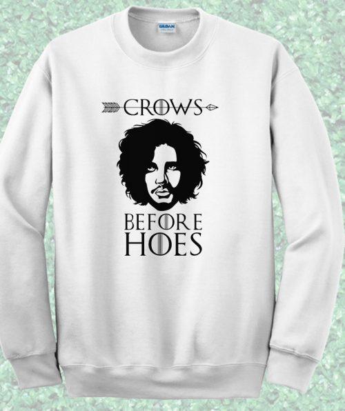 Jon Snow Night Watch Game of Trhones Crewneck Sweatshirt