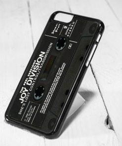Joy Division Cassette Tape Protective iPhone 6 Case, iPhone 5s Case, iPhone 5c Case, Samsung S6 Case, and Samsung S5 Case