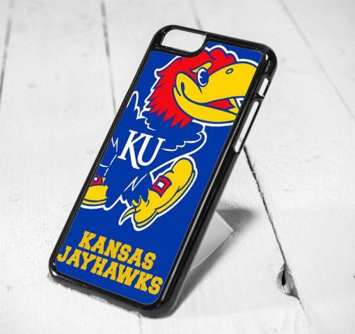 Kansas Jawhaks Protective iPhone 6 Case, iPhone 5s Case, iPhone 5c Case, Samsung S6 Case, and Samsung S5 Case