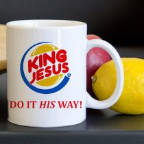 King Jesus Tea Coffee Classic Ceramic Mug 11oz