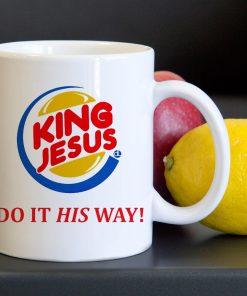King Jesus Tea Coffee Classic Ceramic Mug 11oz