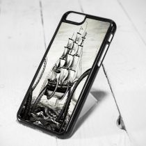Kraken Art Protective iPhone 6 Case, iPhone 5s Case, iPhone 5c Case, Samsung S6 Case, and Samsung S5 Case