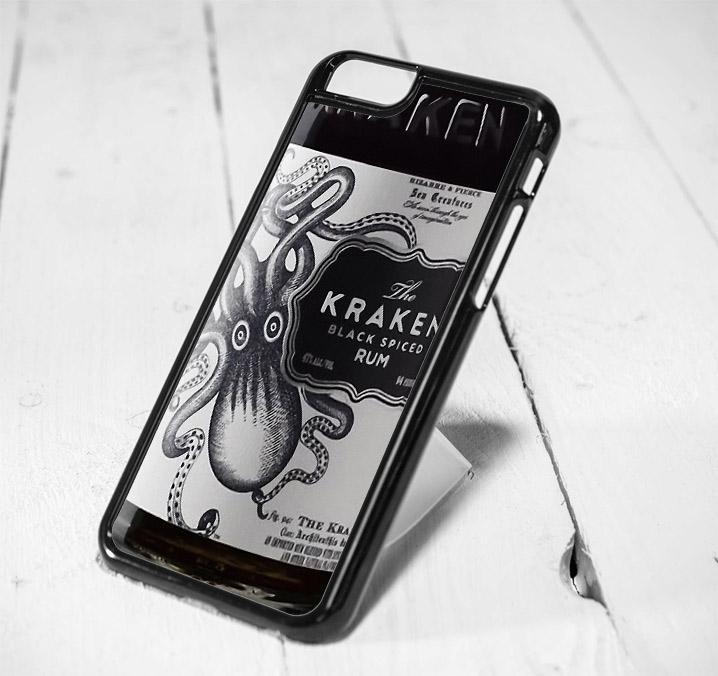 Kraken Black Spiced Rum Protective iPhone 6 Case, iPhone 5s Case, iPhone 5c Case, Samsung S6 Case, and Samsung S5 Case