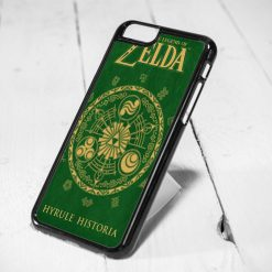 Legend of Zelda Cover Book Protective iPhone 6 Case, iPhone 5s Case, iPhone 5c Case, Samsung S6 Case, and Samsung S5 Case