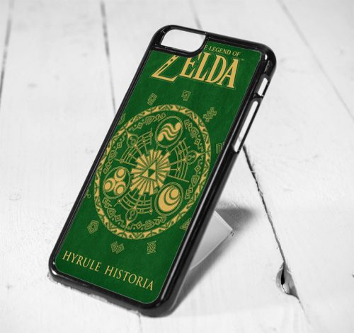 Legend of Zelda Cover Book Protective iPhone 6 Case, iPhone 5s Case, iPhone 5c Case, Samsung S6 Case, and Samsung S5 Case