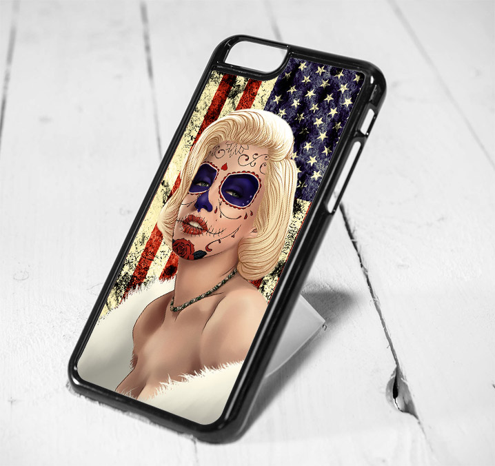 Marilyn Monroe Day of The Dead iPhone 6 Case, iPhone 5s Case