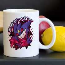 Mega Gengar Pokemon Evolution Tea Coffee Classic Ceramic Mug 11oz