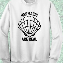 Disney Little Mermaid Are real Crewneck Sweatshirt