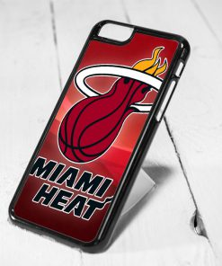 Miami Heat Basketball Protective iPhone 6 Case, iPhone 5s Case, iPhone 5c Case, Samsung S6 Case, and Samsung S5 Case