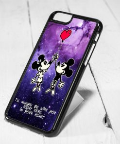Disney Mickey and Minnie Mouse Love Quote Protective iPhone 6 Case, iPhone 5s Case, iPhone 5c Case, Samsung S6 Case, and Samsung S5 Case