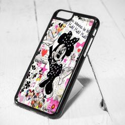 Minnie Mouse Vintage Protective iPhone 6 Case, iPhone 5s Case, iPhone 5c Case, Samsung S6 Case, and Samsung S5 Case
